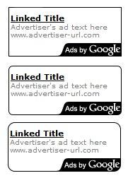 Adsense Corner Styling options