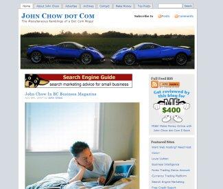 John Chow's blog