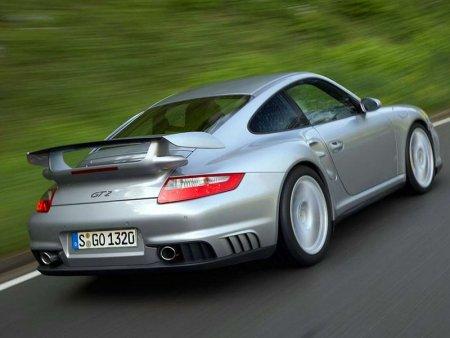 Porsche 911 GT2 2008 car rear